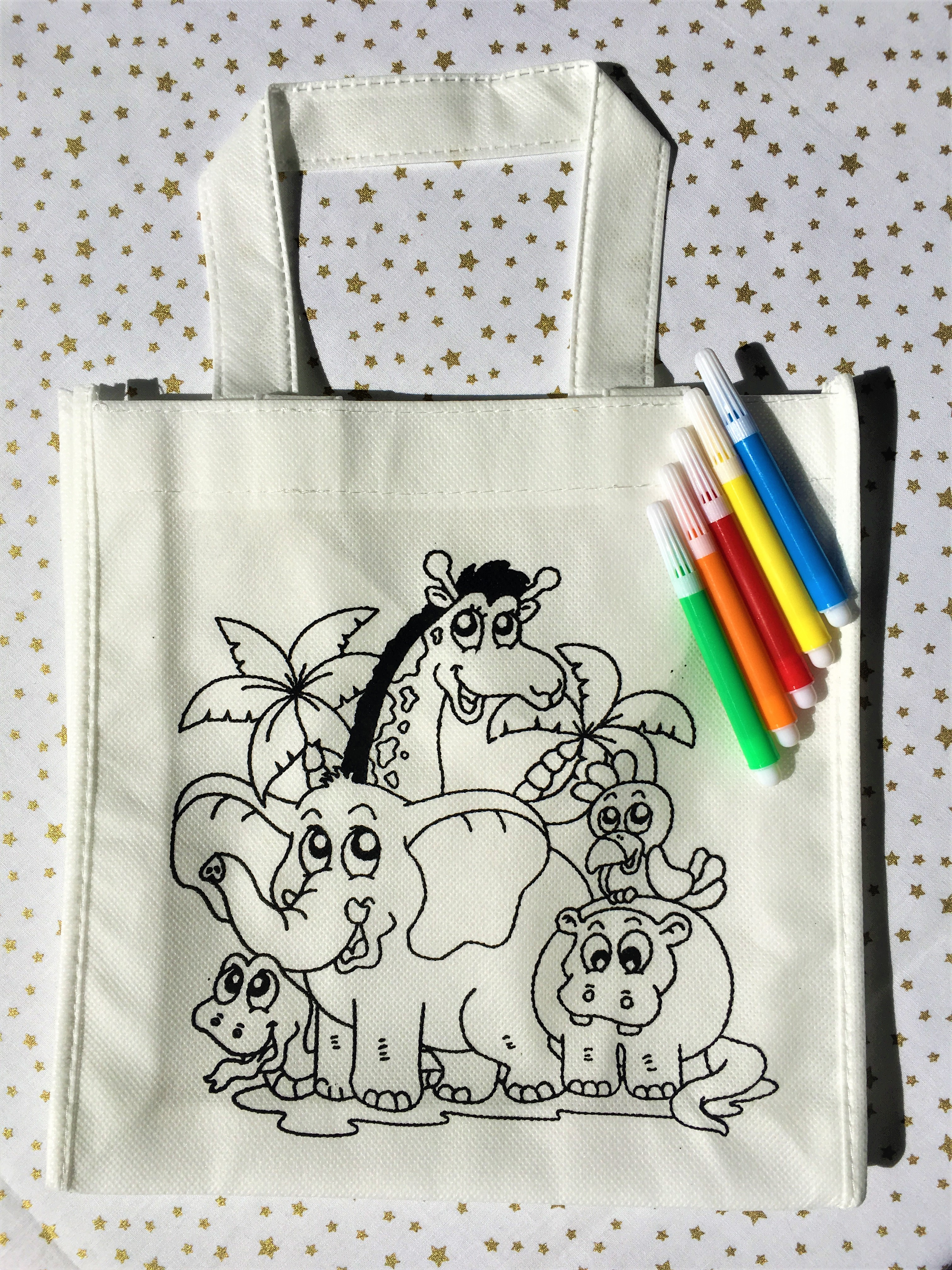 Tote-Bag Enfant à colorier