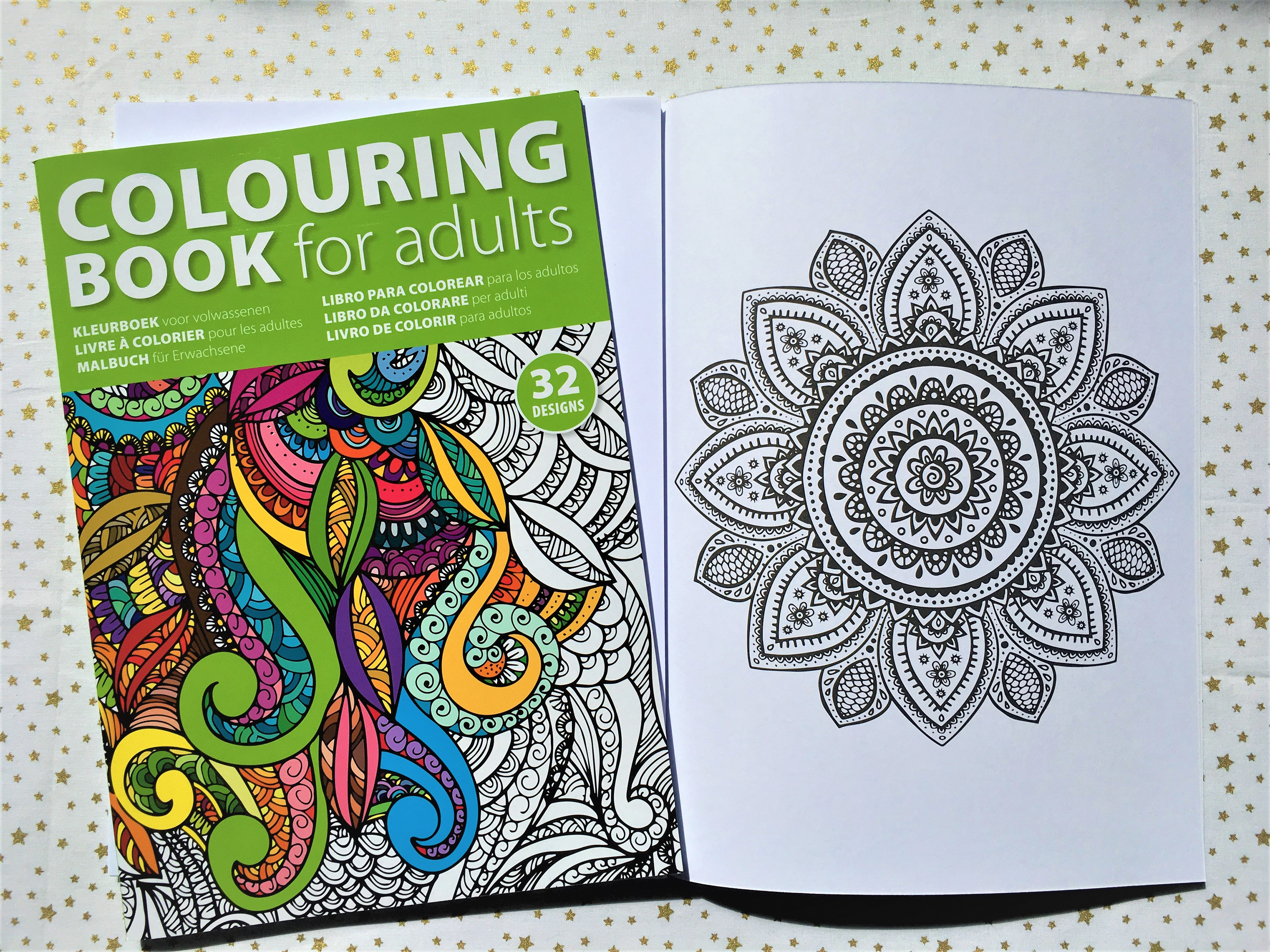 Coloriage anti-stress Adulte